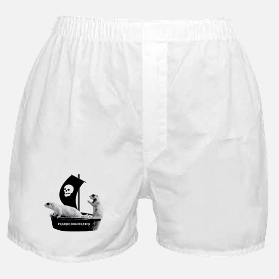 Prairie Dog Pirates Boxer Shorts
