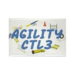CTL3 Agility Title Rectangle Magnet