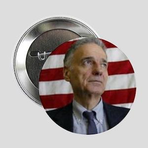 """Ralph Nader """"Flag"""" 2.25"""" Button (10 pack)"""