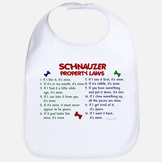 Schnauzer Property Laws 2 Bib