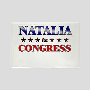NATALIA for congress Rectangle Magnet