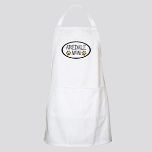 Airedale Mom Oval BBQ Apron