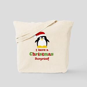 penguin big sister Tote Bag