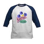 Sanibel Retro Pelicans - Kids Baseball Jersey