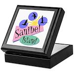 Sanibel Retro Pelicans - Keepsake Box