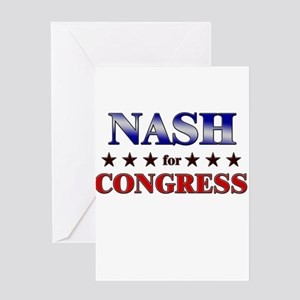 NASH for congress Greeting Card