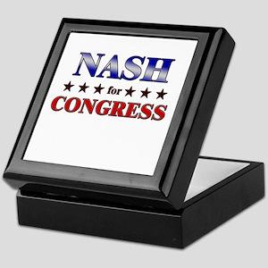 NASH for congress Keepsake Box
