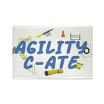 C-ATE Agility Title Rectangle Magnet (100 pack)