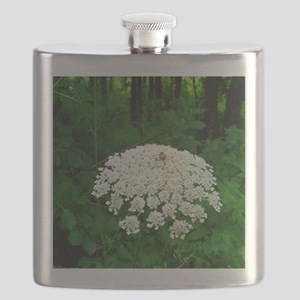 Berkshire White Flower Flask