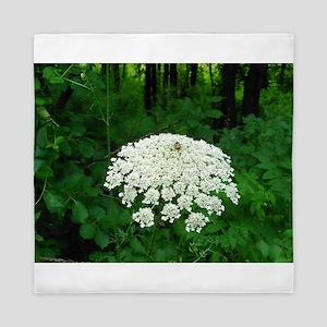 Berkshire White Flower Queen Duvet