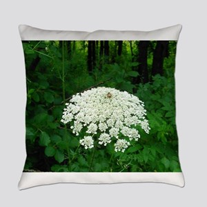 Berkshire White Flower Everyday Pillow