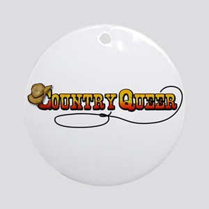 Cowboy Queer Ornament (Round)