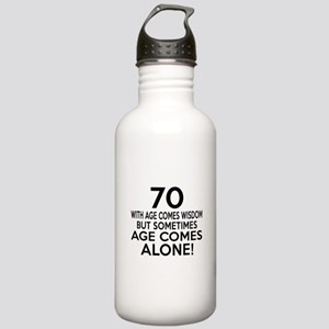 70 Awesome Birthday De Stainless Water Bottle 1.0L