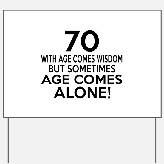70 Awesome Birthday Designs Yard Sign