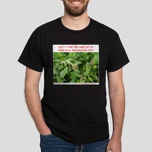 TIME TO ENJOY LIFE Dark T-Shirt