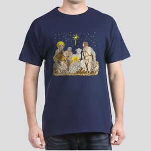 Christmas Nativity Dark T-Shirt