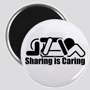 Sharing is Caring Magnet