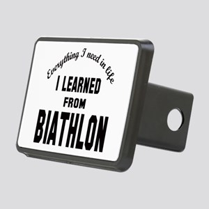 I learned from Biathlon Rectangular Hitch Cover