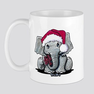 Holiday Elephant Mug