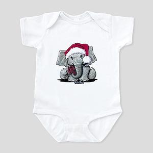 Holiday Elephant Infant Bodysuit