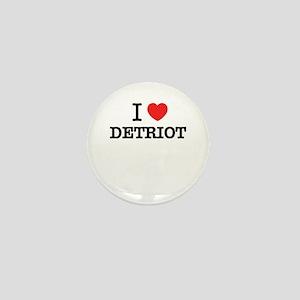 I Love DETRIOT Mini Button