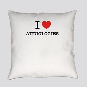 I Love AUDIOLOGIES Everyday Pillow