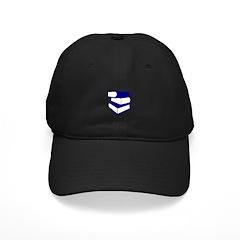 Stack Of Blue Books Baseball Hat