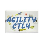 CTL4 Agility Title Rectangle Magnet