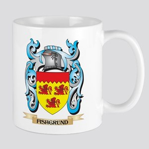 Fishgrund Coat of Arms - Family Crest Mugs