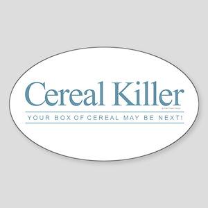 Cereal Killer Sticker