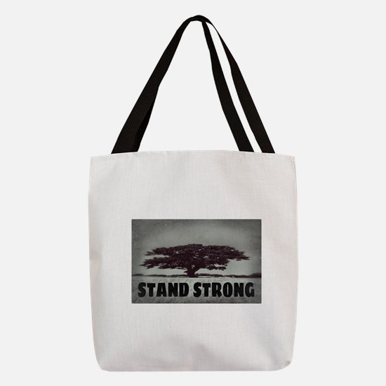 STAND STRONG Polyester Tote Bag