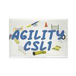 CSL1 Agility Title Rectangle Magnet (100 pack)