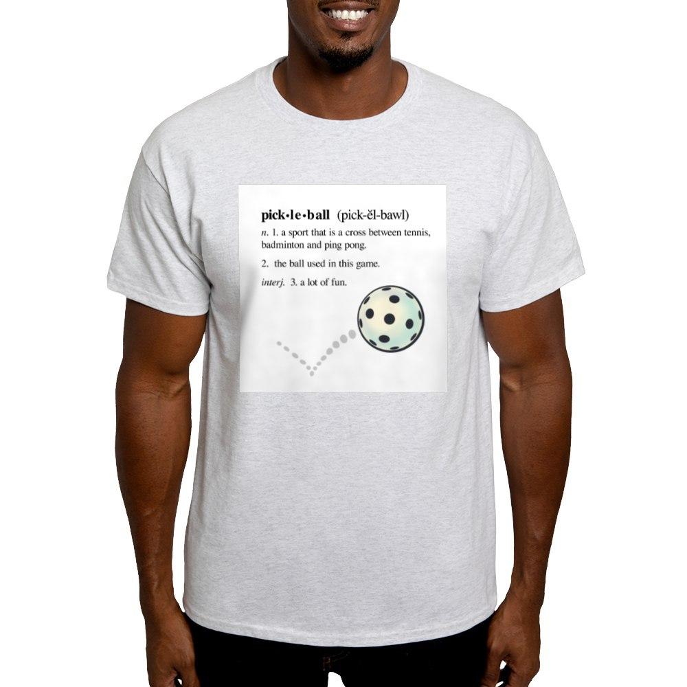 CafePress-Pickleball-Definition-With-Ba-Light-T-Shirt-Light-T-Shirt-186958273 thumbnail 4