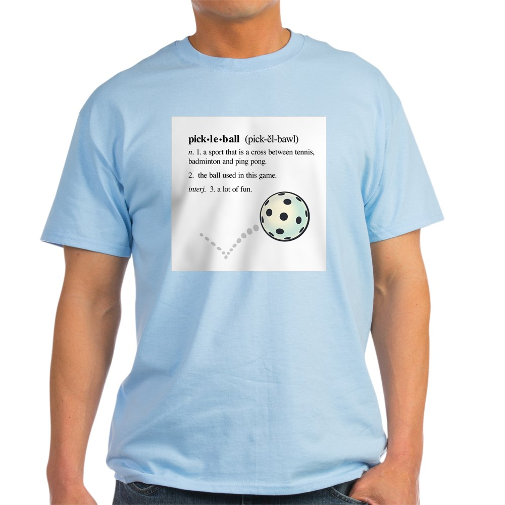 CafePress-Pickleball-Definition-With-Ba-Light-T-Shirt-Light-T-Shirt-186958273 thumbnail 28