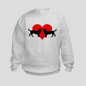 Cat lovers Kids Sweatshirt