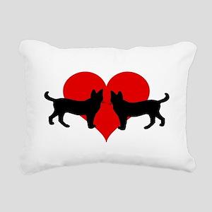 Cat lovers Rectangular Canvas Pillow