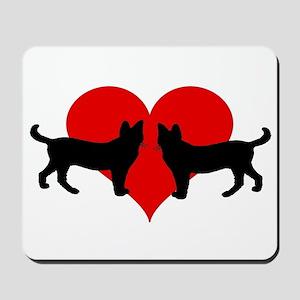 Cat lovers Mousepad