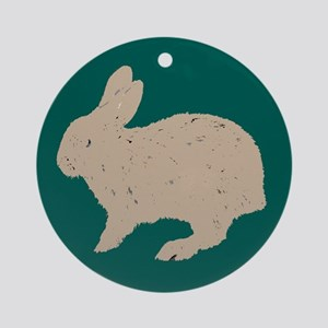 Rabbit Keepsake (Round)