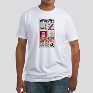 Autistic Most Unwanted Fitted T-Shirt