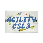 CSL3 Agility Title Rectangle Magnet (10 pack)