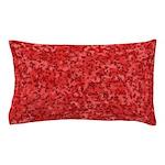 Martian Red Pillow Case