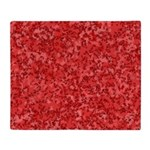 Martian Red Throw Blanket