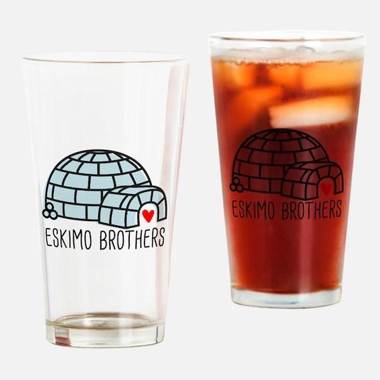 Eskimo Brothers Drinking Glass
