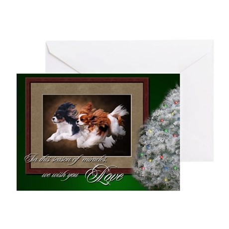 Cavaliers Christmas Cards (Pk of 10)
