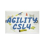 CSL4 Agility Title Rectangle Magnet (10 pack)