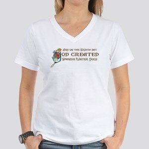 God Created SWDs Women's V-Neck T-Shirt