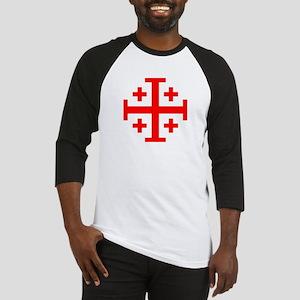 Crusaders Cross (Red) Baseball Jersey