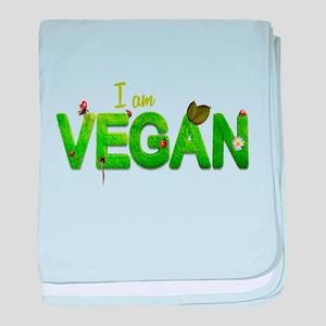 Vegan Healthy Style baby blanket