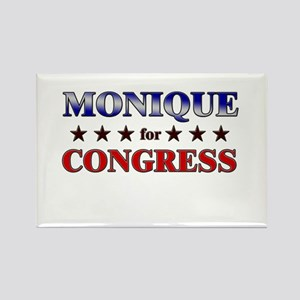 MONIQUE for congress Rectangle Magnet