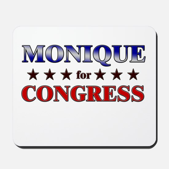 MONIQUE for congress Mousepad